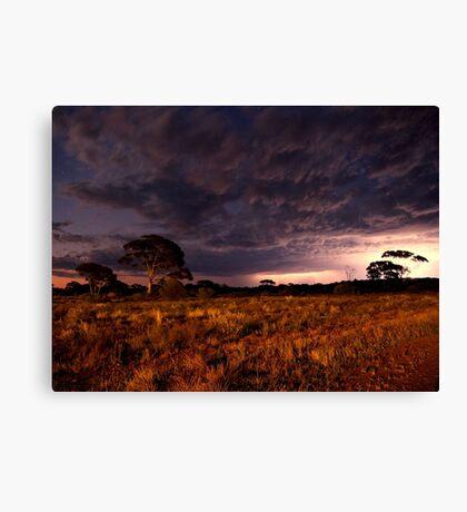 Australian Outback Storm Canvas Print