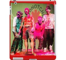 red hot chili peppers iPad Case/Skin