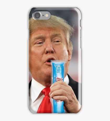 Trump will be zooperdooper iPhone Case/Skin