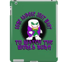 Joker Dr Who Adapoise iPad Case/Skin