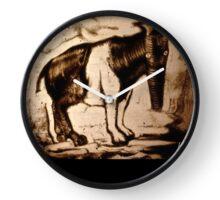 tapir sepia endangered species Clock