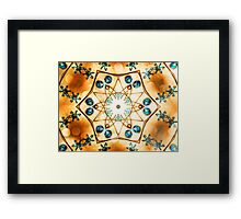 Sparkling Symbolism Framed Print
