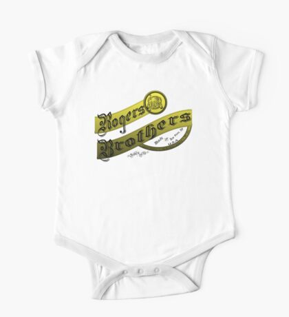 rogers brothers monogram One Piece - Short Sleeve
