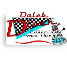 Dalek Diner 1 Canvas Print