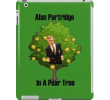 Alan Partridge in a pear tree. iPad Case/Skin