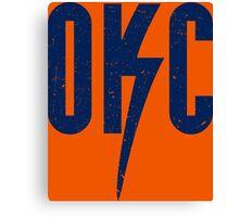 OKC Canvas Print