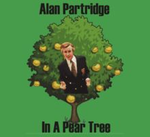 Alan Partridge in a pear tree. by CCStudios