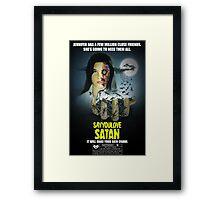 Say You Love Satan 80s Horror Podcast - Phenomena Framed Print
