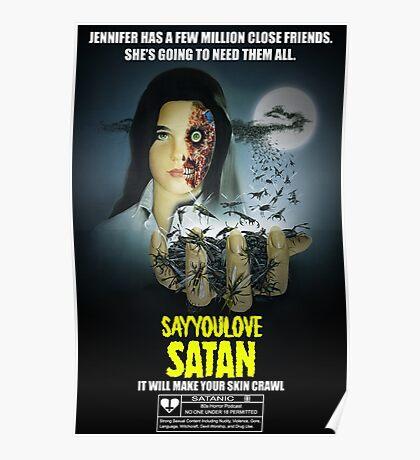 Say You Love Satan 80s Horror Podcast - Phenomena Poster