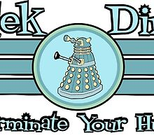Dalek Diner 2 by dontpanictees