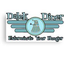 Dalek Diner 2 Canvas Print