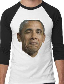 Barack Hussein Obama Men's Baseball ¾ T-Shirt