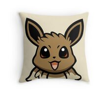Eevee Throw Pillow