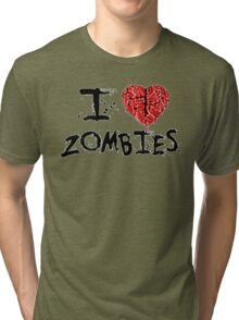 Zombie Love Tri-blend T-Shirt