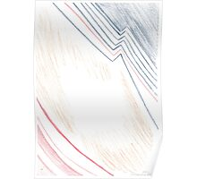 Abstract Protrait Poster