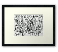 We are being watched Framed Print