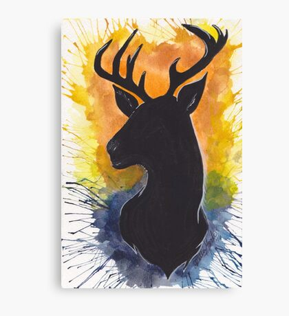 West Virginia Buck Canvas Print