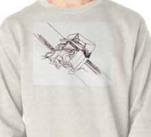 Multi Dimensional Abstract Ink  Pullover