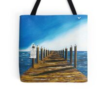 a long walk to the end Tote Bag