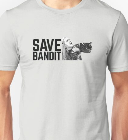 SAVE BANDIT - Angela's Cat Needs a Rescue Unisex T-Shirt