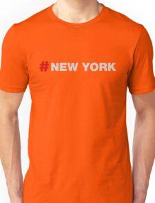Hastag New York Unisex T-Shirt