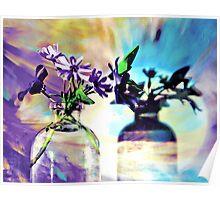 Miniature Floral Arrangement Poster