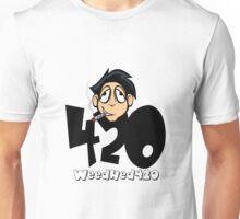 420 WeedHed Stoner Guy Unisex T-Shirt