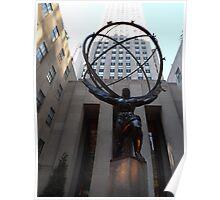 Rockefeller Center Sculpture and Architecture, Rockefeller Center, New York City  Poster
