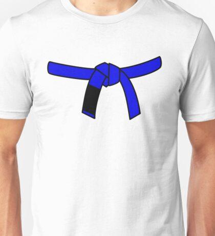 Brazilian Jiu Jitsu (BJJ) Blue Belt Unisex T-Shirt