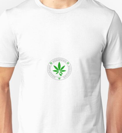 The 420 Weed Power Unisex T-Shirt