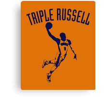 Triple Russell Canvas Print