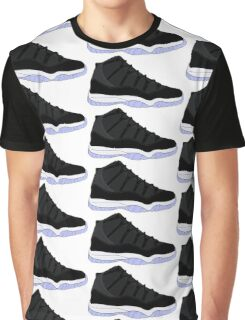 "Air Jordan XI (11) ""Space Jam"" Graphic T-Shirt"