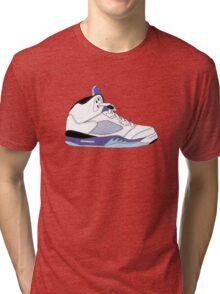 "Air Jordan V (5) ""White Grape"" Tri-blend T-Shirt"
