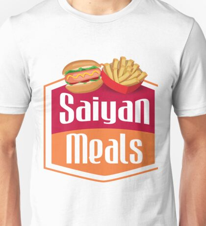 Saiyan Meals Sticker Unisex T-Shirt