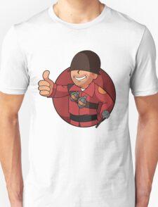 RED Soldier Unisex T-Shirt