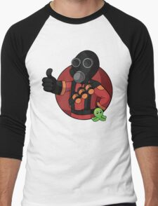 RED Pyro Men's Baseball ¾ T-Shirt