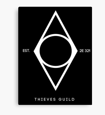 Thieves  Canvas Print