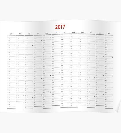 Ferdinand 2017 Wall Calendar Poster