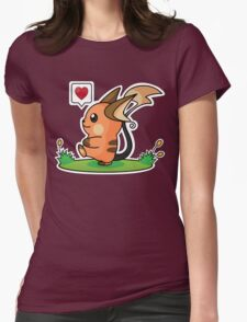 Shiny Raichu Womens Fitted T-Shirt