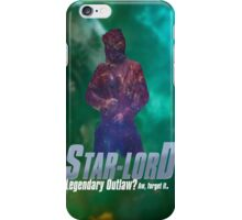 Starlord, Legendary Outlaw? iPhone Case/Skin