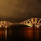 Forth Bridge (Firth of Forth Railway Bridge) by Maria Gaellman