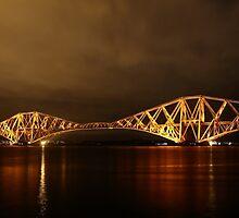 Forth Bridge (Firth of Forth Railway Bridge) by Maria Gaellman