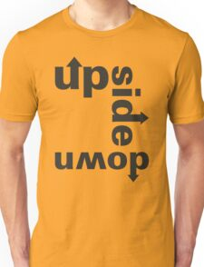 up side down Unisex T-Shirt