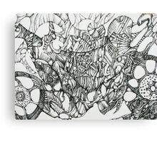 Mean Machine Canvas Print