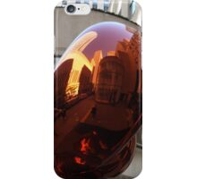 Reflections on a Sculpture, Rockefeller Center, New York City iPhone Case/Skin