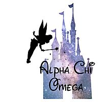 Alpha Chi Omega Disney Castle A Chi O Photographic Print