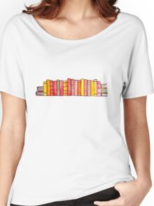 Warm Books 2 Women's Relaxed Fit T-Shirt