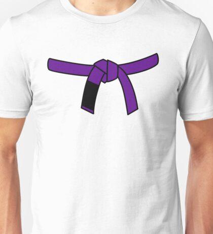 Brazilian Jiu Jitsu (BJJ) Purple Belt Unisex T-Shirt