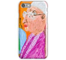 Old Women in Chairs iPhone Case/Skin