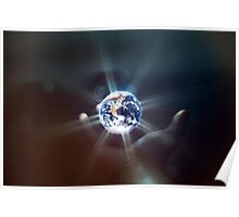 The World in the Palm of Your Hand. Poster